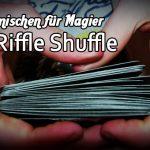 Bild: Karten mischen Riffle Shuffle