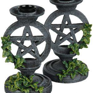 Bild: Pentagramm Kerzenständer